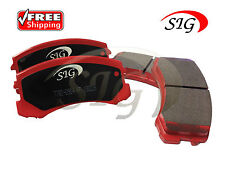 New HD Front SIG Brake Pads for Mitsubishi Lifetime Warranty S-D904