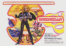 Breygent Sci-Fi & Horror Posters Barbarella Card Set Jane Fonda