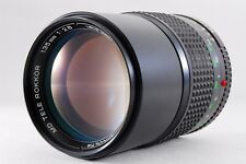 【AB Exc+】 Minolta New MD TELE ROKKOR 135mm f/2.8 MF Lens for SR From JAPAN #2059