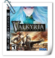 PS3 SONY PlayStation Valkyria Chronicles RPG SEGA