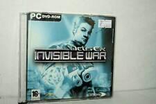 DEUS EX INVISIBLE WAR GIOCO USATO PC CD ROM VERSIONE ITALIANA GD1 47699