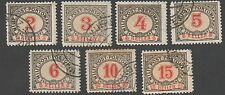 Bosnia and Herzegovina. 1904. Postage dues. Cancelled