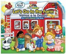 Fisher-Price Let's Go to the Farm/Vamos a la Granja (Lift-the-Flap) Fisher-Pric