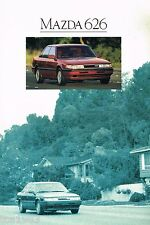 1990 MAZDA 626 Brochure / Catalog: DX,LX,GT