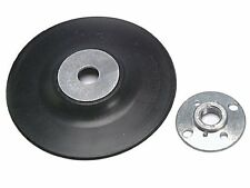 """115mm Rubber Backing Disc M14 Thread Back Pad, For 4 1/2"""" Angle Grinder Sander"""