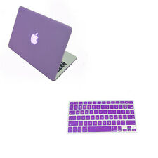 Marble Wood Paint Laptop Hard Case +KB Cover for Macbook Pro13 15 Air 11 13 12 u