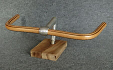 CUSTOM # Wood'n # MUSTACHE Handlebar * WOODEN Fixed Gear WOOD Cruiser Fixie !!!