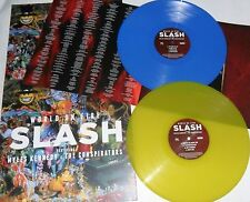 Slash - World on Fire - New 180g Vinyl Double LP - Yellow & Blue