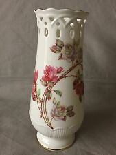 Aynsley Vase Elizabeth Rose Fine Bone China