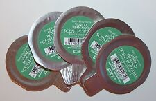 LOT OF 5 BATH & BODY WORKS VANILLA BEAN NOEL SCENTPORTABLE FRAGRANCE REFILL DISC