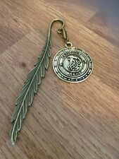 Harry Potter Inspired Bronze Gringotts Bank Coin Book Mark