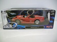 NIB 1:18 Scale Special Edition Red SHELBY SERIES 1 CONVERTIBLE Diecast By Maisto