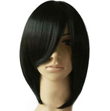 New black Straight Short Bob Hair Wigs Women's Fashion Cosplay Costume Party Wig