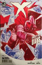 X #12 Twenty-One Days NM- 1st Print Free UK P&P Dark Horse Comics