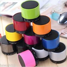 MINI Speaker portatile Bluetooth Wireless Audio iPhone iPad MP3 IN SCATOLA COLORE UK