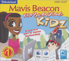 Mavis Beacon Keyboarding Kidz - Typing for Kids - Windows XP,7,8 & Mac 10.5 NEW!