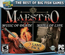 Best of Big Fish Games: Maestro -- Music of Death/Maestro: Notes of Life ...