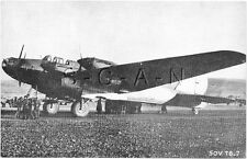 WWII Large (8.25x5.25) Photo Image- Airplane- Russian- Soviet TB 7 Bomber
