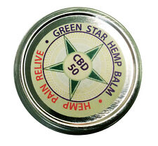 Green Star CBD Hemp Cream for Pain Relief 1 oz