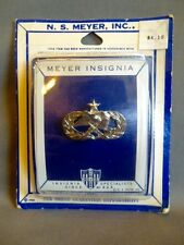 USAF Senior Munitions Pin Meyer New in package