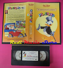 VHS film PAPERINO Cartoons classici 1984 WALT DISNEY VI 4082 (F35*) no dvd