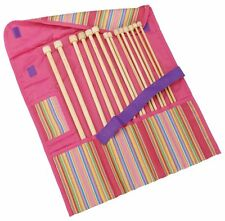 "Clover Getaway Takumi Bamboo Single Point Knitting Needle Gift Set 13"" To 14"""