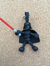 Lego Darth Vader Paracord Keyring /Puller / Lanyard Made In UK