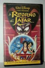 IL RITORNO DI JAFAR FILM USATO VHS VERSIONE ITALIANA GS2 42595