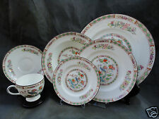 24pc Wedgwood Kutani Crane Bone China Dinner Soup Salad B&B Cup Sauer $931.8