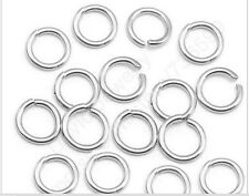 925 sterling silver jewelry findings open jump ring x 100 pcs