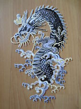 11'' inches Large Embroidery Patches dragon  Size:17cm*28.5cm