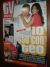 Tv Oggi.BELEN RODRIGUEZ & TEO MAMMUCCARI,www