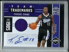 Tyreke Evans 11/12 Panini Limited Autograph Game Used Jersey #29/49