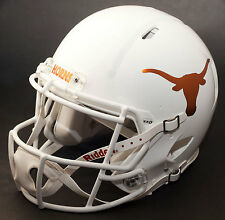 TEXAS LONGHORNS NCAA Riddell Revolution SPEED Football Helmet (CHROME LOGO)