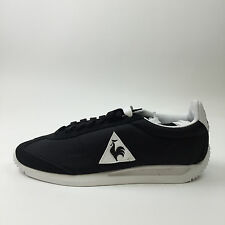 Le Coq Sportif Quartz Nylon Black 1611751 EUR 36 Mens Sz US4.5 NEW DEADSTOCK