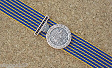 NATIONAL MEDAL MINIATURE WITH 10CM RIBBON EXCELLENT REPRODUCTION DEFENCE