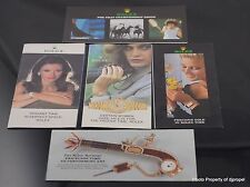1980's Ladies Rolex Ad Pamplet Collection! Features Lady Pres Datejust and More!