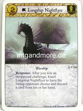 A Game of Thrones LCG - 1x Longship Nightflyer  #104 - A Journey's End