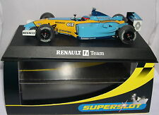 SUPERSLOT H2398 SLOT CAR RENAULT R23 F1  #8 FERNANDO ALONSO  SCALEXTRIC UK  MB