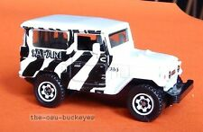 2010 Matchbox Loose 1968 Toyota Land Cruiser FJ40 White Zebra Multi Pk Issue