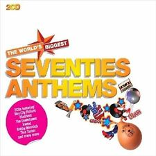 World's Biggest Seventies Anthems by Various Artists (CD, Sep-2011, 2 Discs,...
