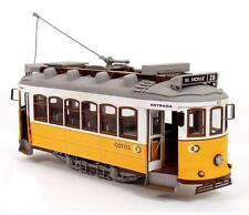 "Elegant, finely detailed model tram kit by OcCre: the ""Lisbon Tram"""