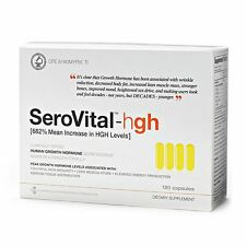 SEROVITAL DIETARY SUPPLEMENT 120 CAPSULES FACTORY-SEALED EXP 05-18 FREE SHIP