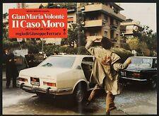 FOTOBUSTA 2, IL CASO MORO, G.FERRARA, G.M.VOLONTE', AUTO CAR ALFETTA, STORICO