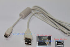 New USB 5 pin Cable/Cord for canon PowerShot SX710 HS,N2,SX500 IS,SX510 Camera