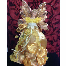 NEW KIRKS FOLLY HEAVENLY FAIRY ANGEL TREE TOPPER / TABLE DECORATION  GOLD