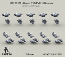 Live Resin 1/35 LRE-35027 US Army NVG PVS 15 Binocular with Norotos TATM Mounts