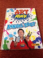 Hardback Book - Art Attack Annual 2007