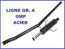 LIGNE ECHAPPEMENT GROUPE A OMP RENAULT CLIO 1.8 16s NON CATALYSEE EN ACIER