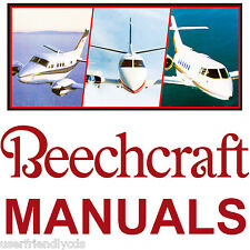 Beechcraft Baron 55 56 58 IPC Parts Catalog Repair SERVICE Maintenance MANUALS